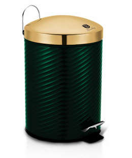 STEEL TRASH CAN 12L BERLINGER HAUS BH-6440 EMERALD