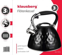 KETTLE WITH WHISTLE KLAUSBERG 3L KB-7455