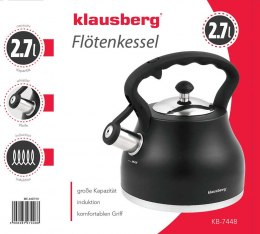 KLAUSBERG WHISTLE KETTLE 2.7L KB-7448