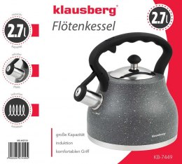 KETTLE WITH WHISTLE KLAUSBERG 2.7L KB-7449