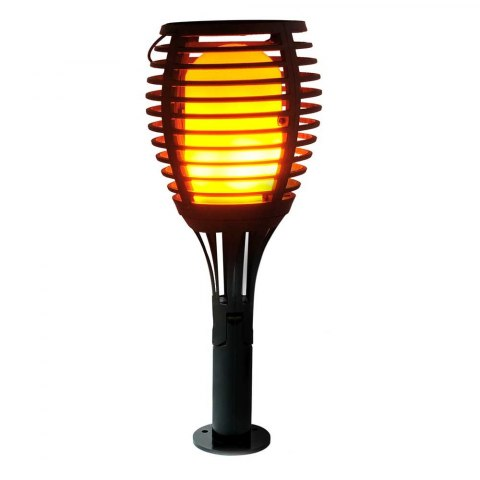 SOLAR LED TORCH LIGHT FLAME FIRE EFFECT