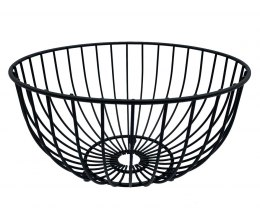 STEEL BASKET FOR FRUIT 25cm black 1704
