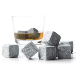 THERMAL GRANITE CUBES FOR DRINKS 9pcs